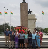 African and African American Studies Hosts Third Study Abroad Program to Ghana