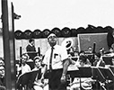 Doc with the concert band (spring 1968)