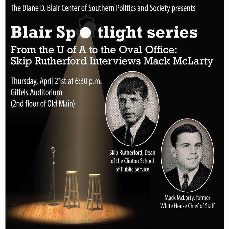Blair Center Launches Spotlight Series With Bill Clinton's Former Chief of Staff
