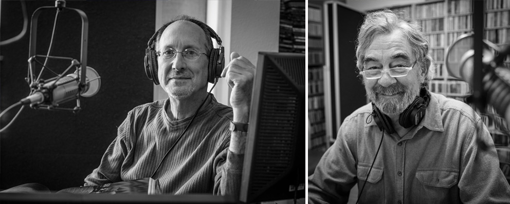 (from left to right): Robert Ginsburg and Mike Shirkey (photos by Russell Cothren)