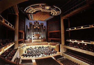The Eugene McDermott Concert Hall