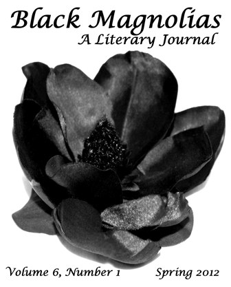 Cover of literary journal, Black Magnolias