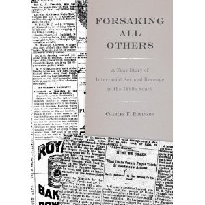 Cover of Robinson's book, Forsaking All Others