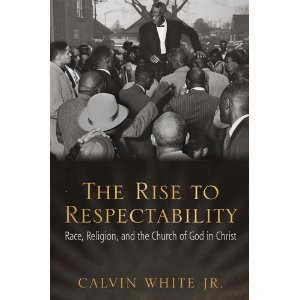 Cover of White's book, The Rise to Respectability