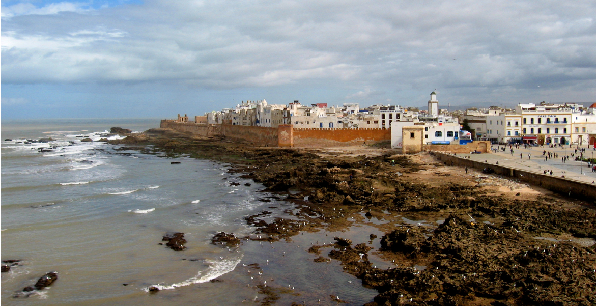 Essaouira, Morocco; photo courtesy of Tom Paradise