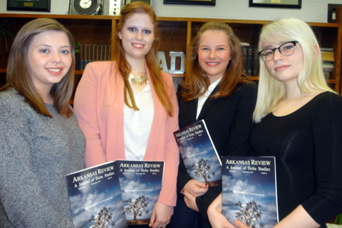 Undergraduates in English Published in Arkansas Review