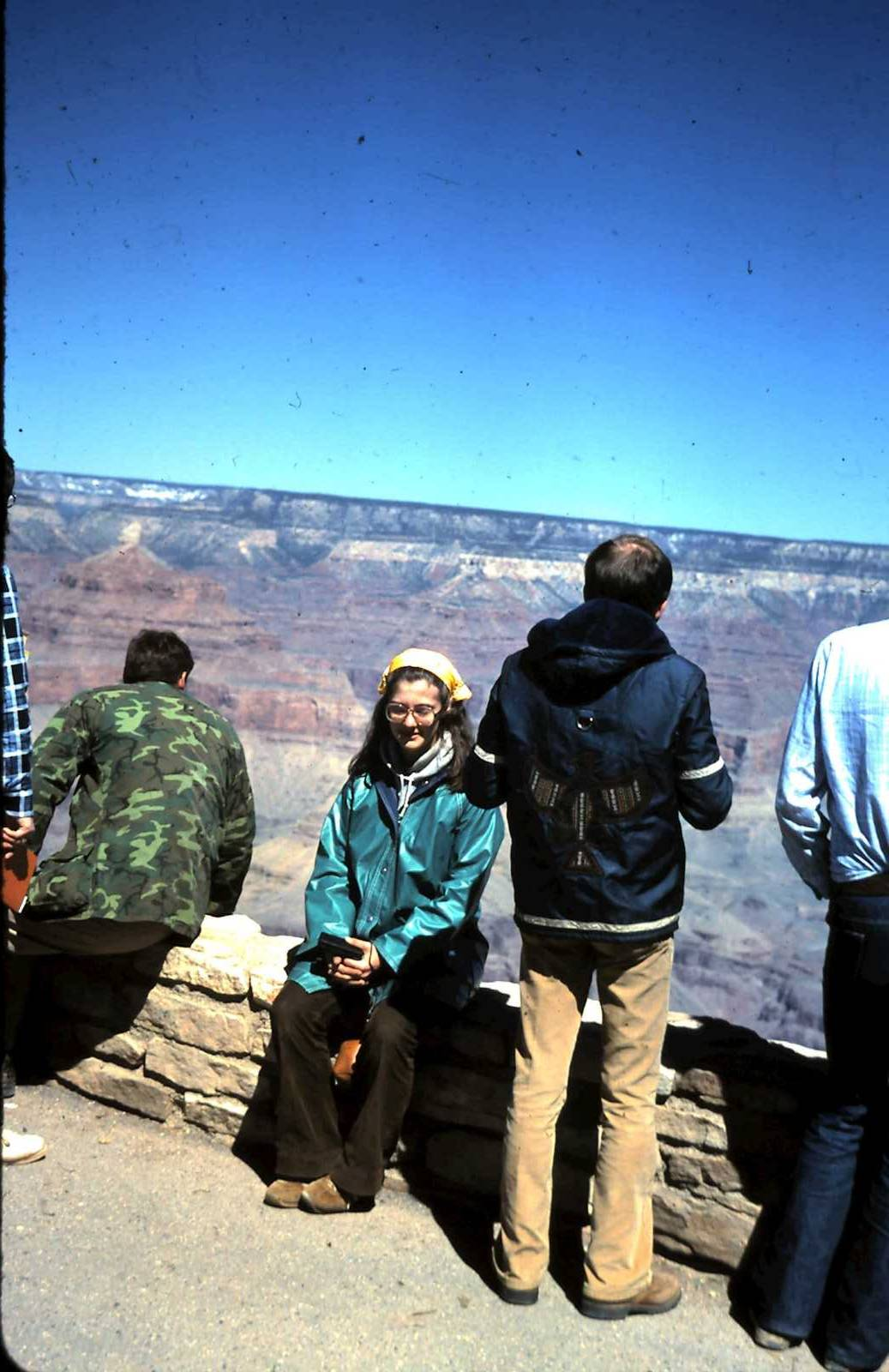 1980 Spring Break Trip to the Grand Canyon