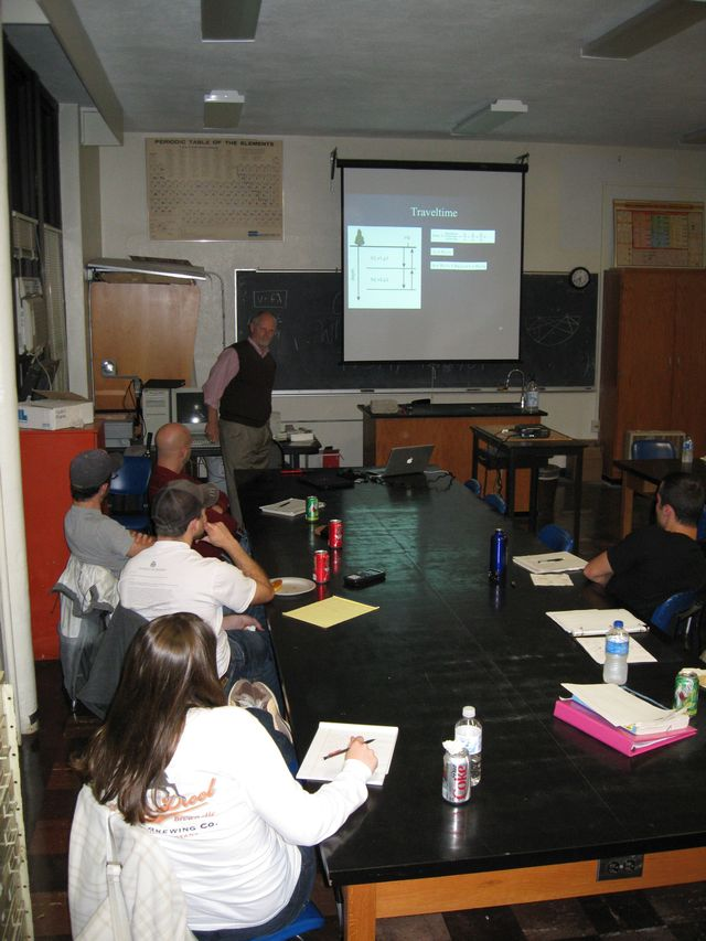 2009 Seismology Short Course