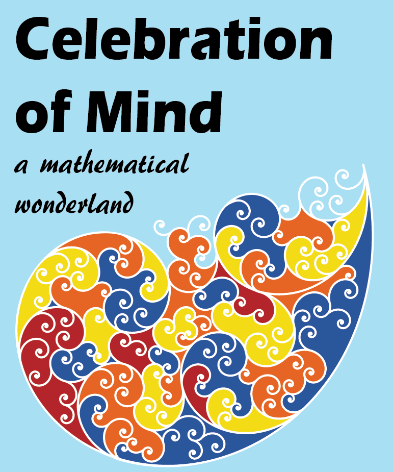Celebration of Mind Poster designed by Prof. Michael Harris