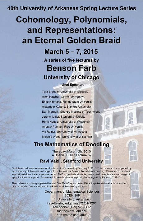 40th Spring Lecture Series