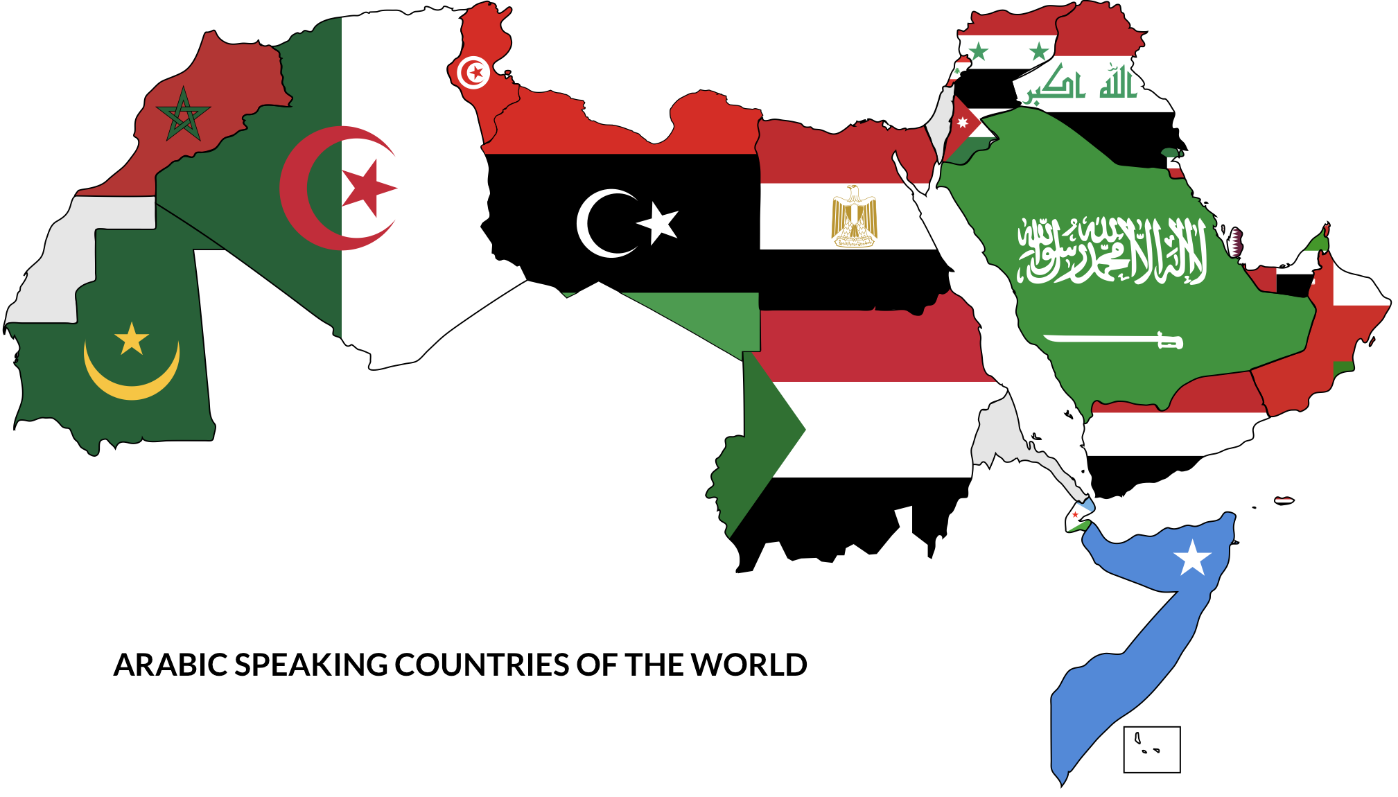 arabic speaking countries of the world