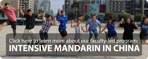 intensive mandarin in china faculty led program