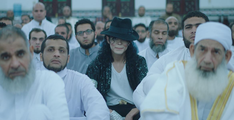 "Film still from ""Sheikh Jackson"", directed by Amir Salama, Egypt 2017"
