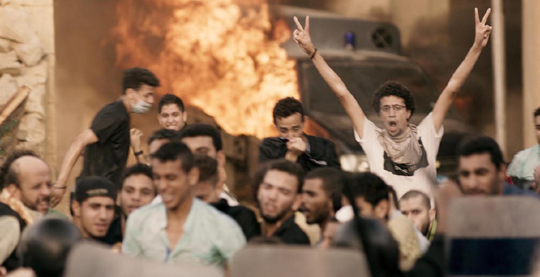 """Film still from """"Eshtibak/Clash"""", directed by Mohamed Diab, Egypt 2016"""