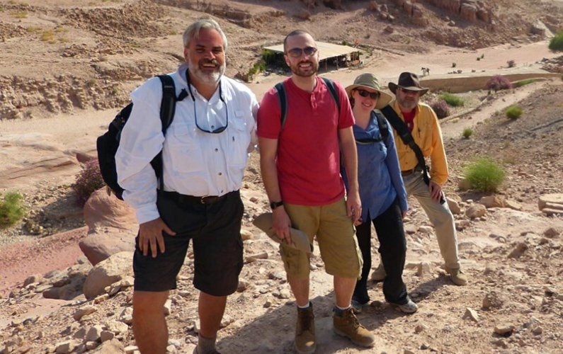 Tom Paradise, University Professor in the Department of Geosciences, has been named the recipient of the Archaeological Institute of America's Distinguished Lecturer Award for 2021-22.