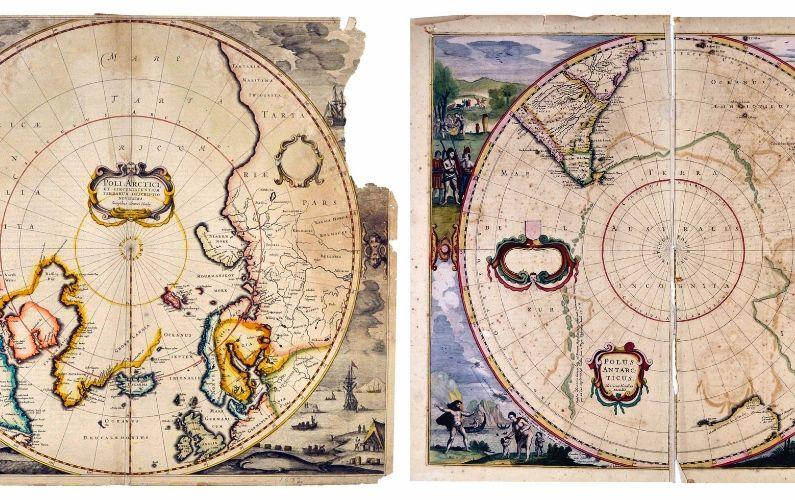 Tom Paradise, University Professor in the Department of Geoscienes, recently discovered several very rare maps previously unknown of for nearly a century.