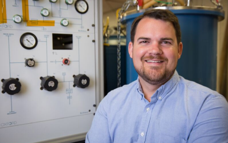 Hugh Churchill, assistant professor of physics, was named a recipient of the Presidential Early Career Award for Scientists and Engineers. This is the highest honor bestowed by the federal government on scientists and engineers who are early in their research careers.