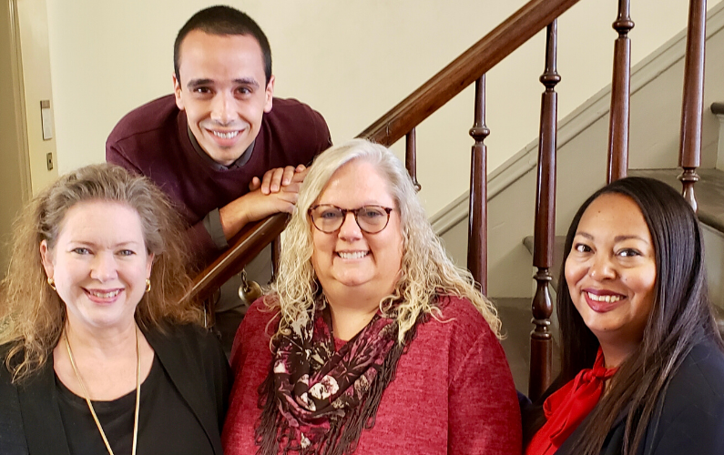 This four-person team leads human resources, faculty services and diversity and inclusion initiatives for the university's largest college.
