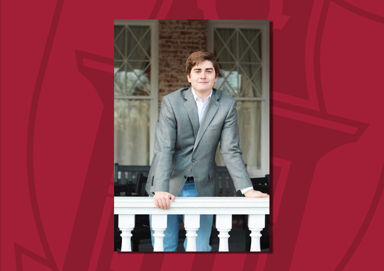 J.P. Gairhan, a 2019 U of A graduate, has been awarded an English teaching assistantship with the Fulbright U.S. Student Program, which will allow him to teach in Botswana for the upcoming academic year.