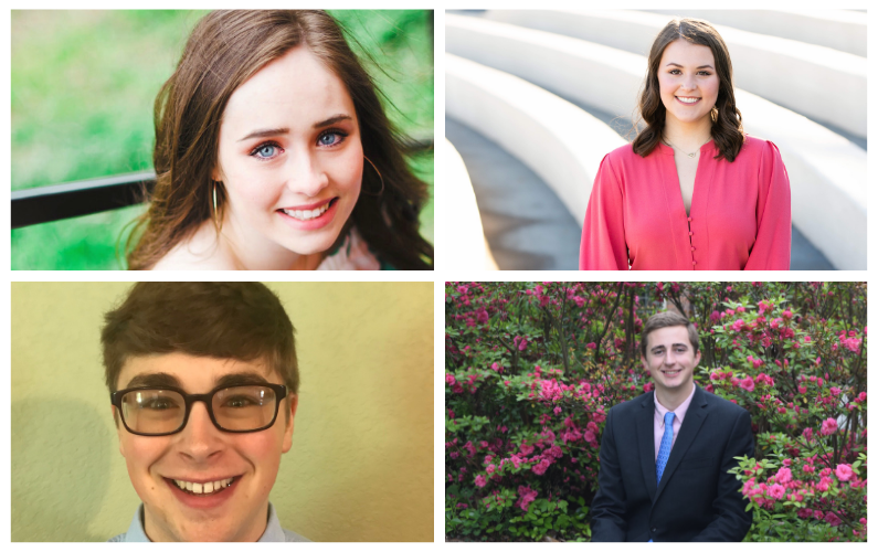 Four talented, driven Arkansas high school graduates will be joining the distinguished list of Sturgis Fellows in the J. William Fulbright College of Arts and Sciences this fall.
