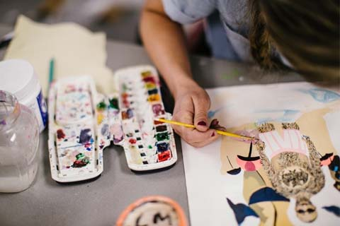 Located in the heart of south Fayetteville, the Windgate Art and Design District is already well on its way to becoming a central hub for student and faculty artists and designers at the U of A and beyond.