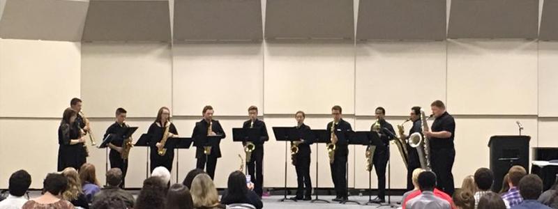 Saxophone Ensemble at ArkMEA Conference
