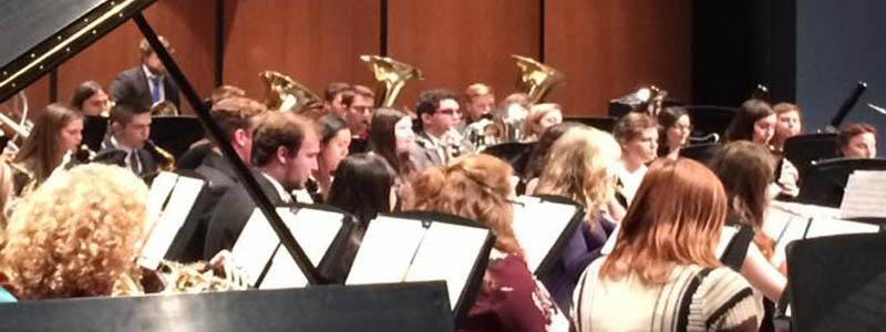 Wind Ensemble in Conway, AR