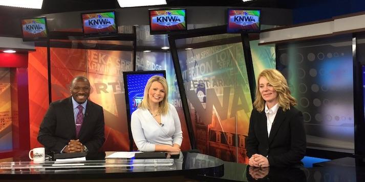 Professor Karen Sebold Talks Politics on KNWA Today