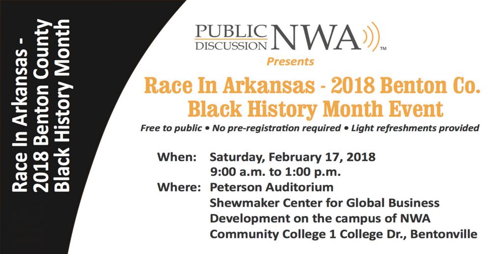 2018 Benton Co. Black History Month Event.