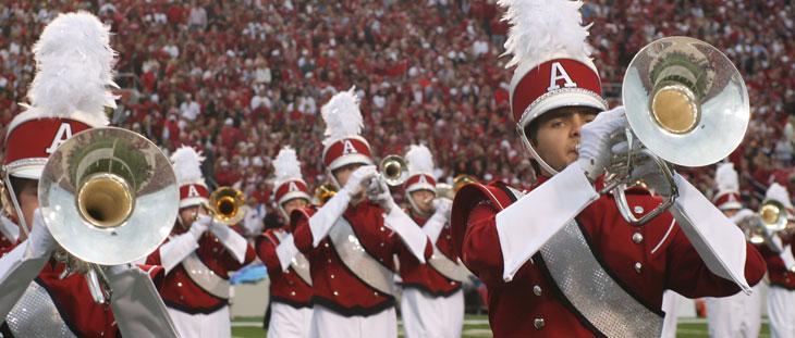 Razorback Marching Band University Of Arkansas