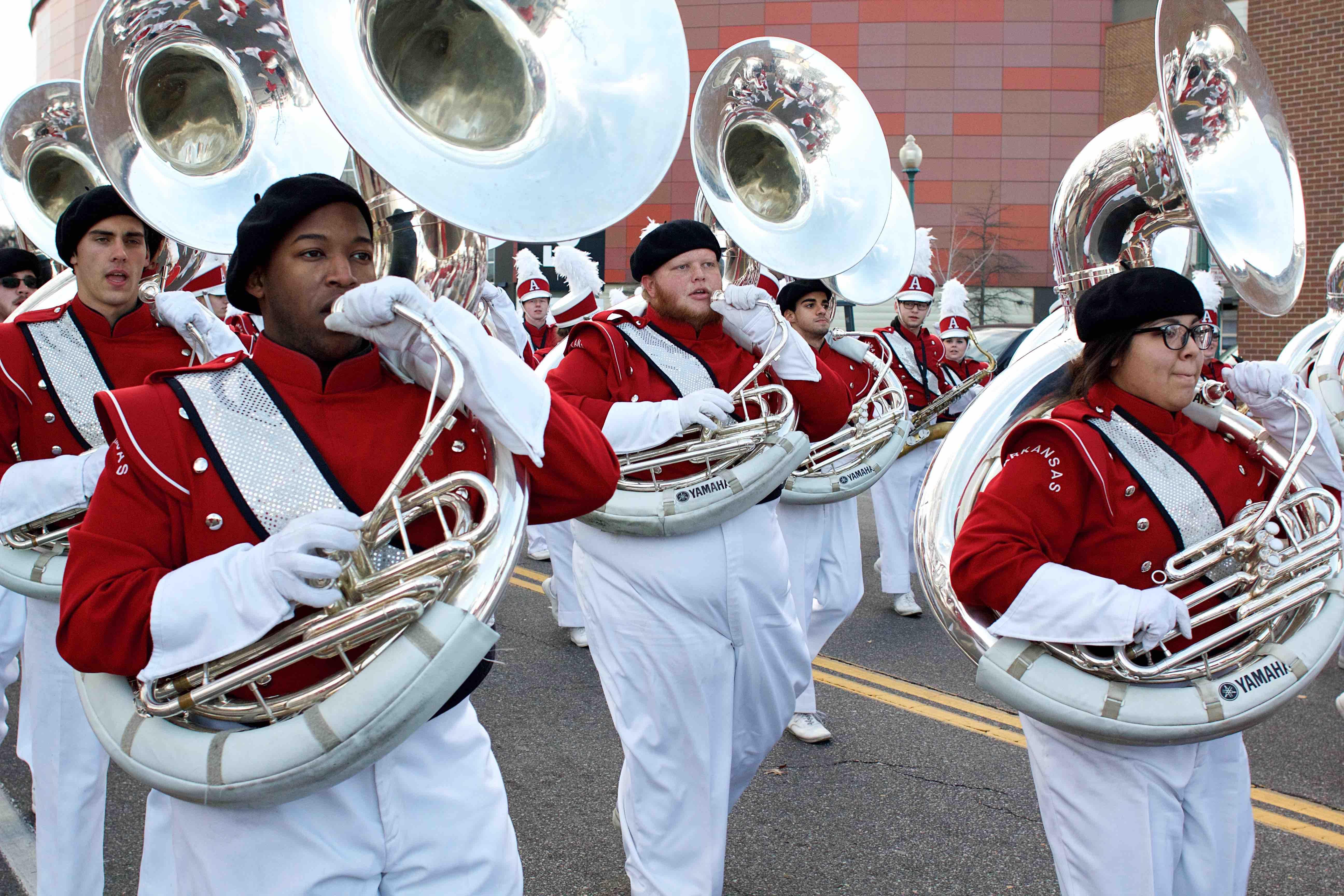 Razorback Marching Band | University of Arkansas